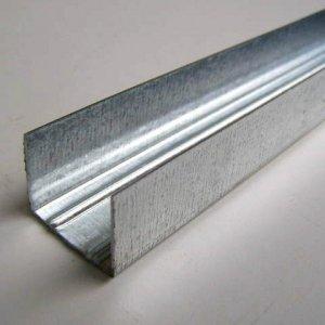 Профиль стартовый (ПС) 27х28 мм, 3 м, для гипсокартона (0,35 мм)