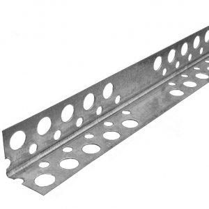 Профиль угловой перфорированный оцинкованный 20х20 (3м) (перфоуголок)