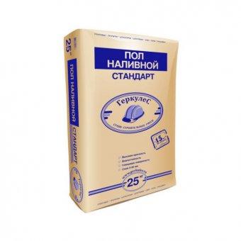 """Пол наливной """"Стандарт"""" Геркулес 25 кг."""