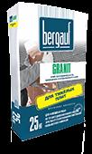 """Клей для плитки """"Granit"""" Bergauf 25 кг"""