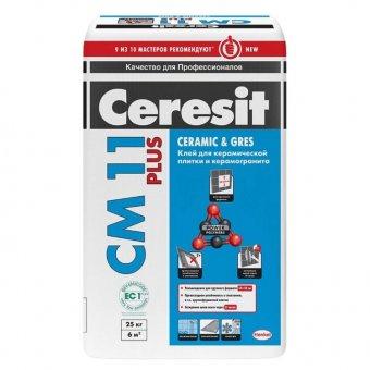 Клей для плитки CERESIT СМ 11 25 кг