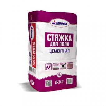 """Стяжка бетонная для пола """"Диола-342"""" 25 кг"""