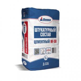 """Штукатурный состав цементный  """"Диола-335"""" 25 кг"""