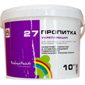 """Пропитка укрепляющая """"Радуга-27"""" 10 кг"""