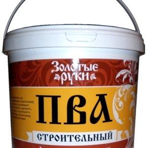 """Клей """"Диола-46"""" ПВА строительный """"Золотые Руки"""", 10 кг"""