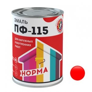 ПФ-115 красная (0,9кг) (14)
