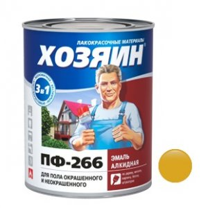 ПФ-266 желто-корич (0,9кг) (14)