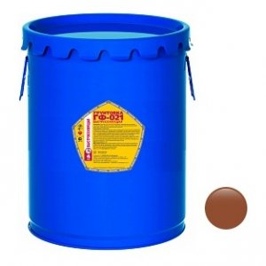 Грунт ГФ-021 красно-коричневая ТЕХПРОМ (25кг)
