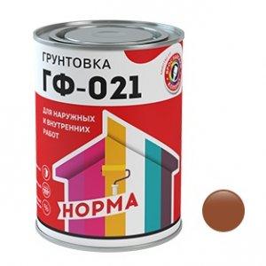 Грунт ГФ-021 красно-коричневая (1,9кг) (6)