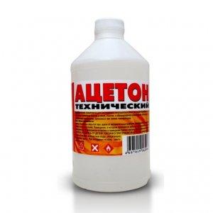 Ацетон 1 л (по 20шт)