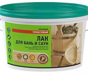 Лак для бань и саун ВД-АК Яр. Колорит (2,3л)