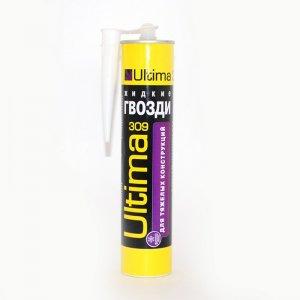 Клей ULTIMA 309 для тяжелых строительный конструкций, 360г (12шт/кор)