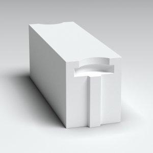 Сибит Блок стеновой Б2 625х200х250 мм, D500
