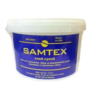 Клей сухой для стеклообоев 1 кг SAMTEX