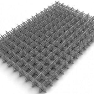 Сетка сварная 100х100x4 мм (1х2 м)