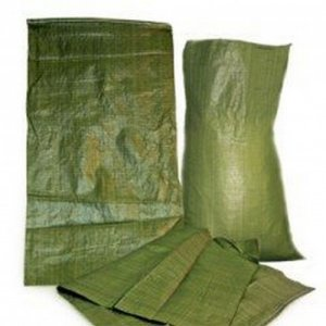 Мешок полипропиленовый до 50 кг. , зеленый(1 шт)