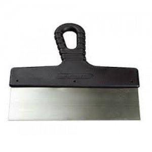 Шпатель  300 мм с черной ручкой  нерж.сталь