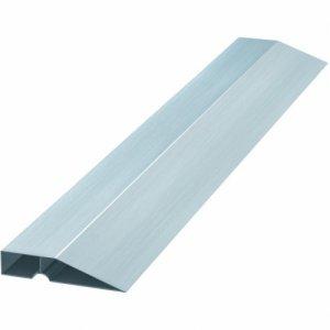 Правило алюминиевое Трапеция 1,0 м