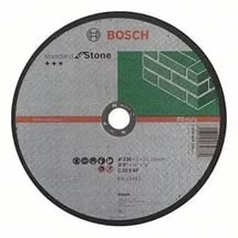 Круг отрезной BOSCH 115х3 мм по камню 2608603177
